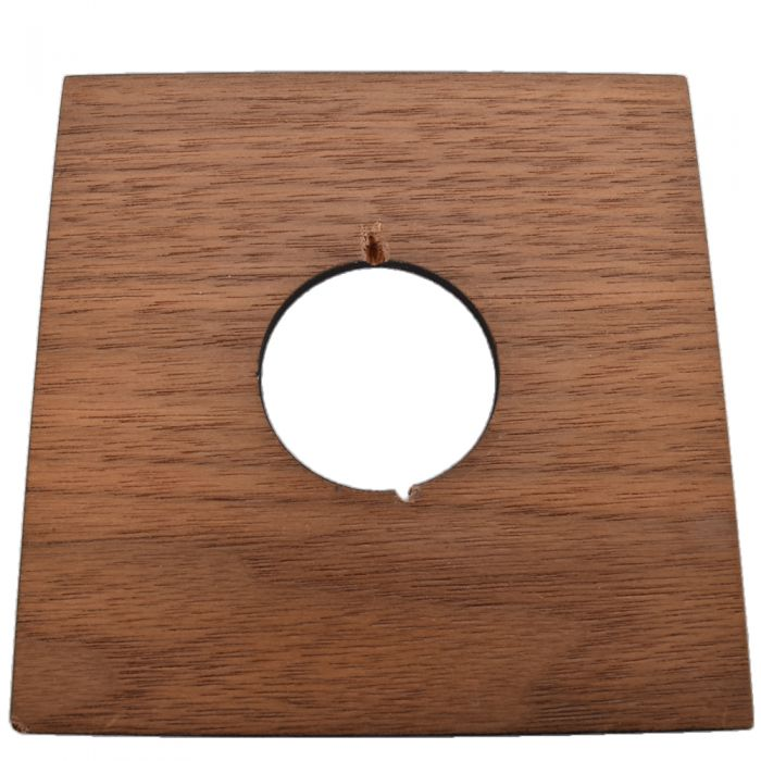 Zone VI Classic (4X4) Wisner 35 Hole Walnut Lens Board