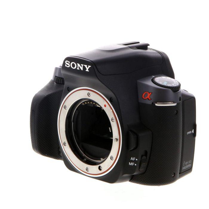 Sony Alpha A330 DSLR Camera Body, Black {10.2MP}