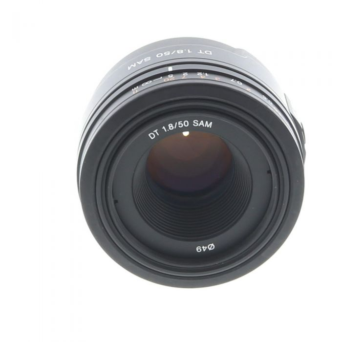 Sony 50mm F/1.8 DT SAM Alpha Mount Autofocus Lens {49}