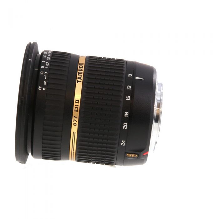 Tamron SP 10-24mm F/3.5-4.5 DI II IF Aspherical Lens for Sony Alpha Mount {77} B001