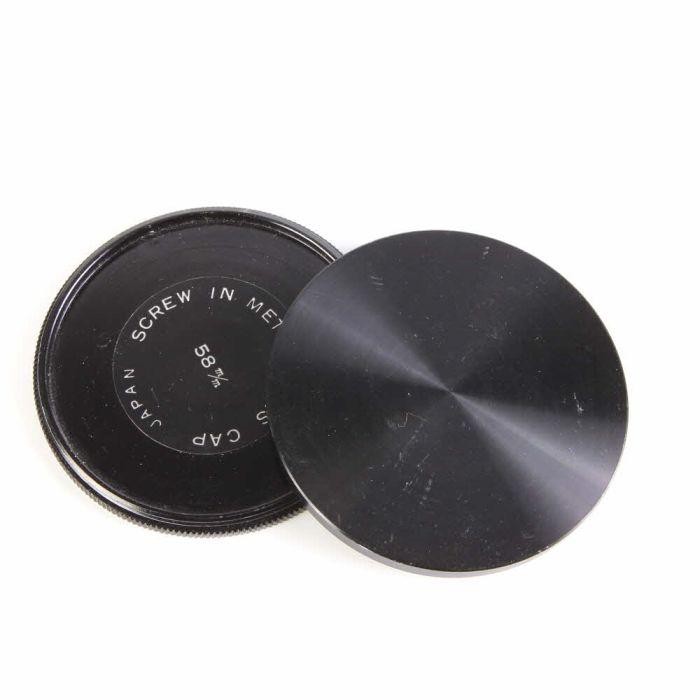 Miscellaneous Brand 58mm Stack Lens Caps Lens Cap