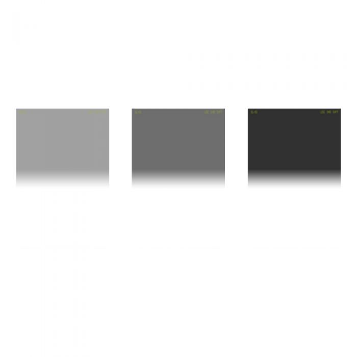LEE Filters 4X6 Inch Graduated Soft Edge Filter Set (.3/.6/.9 Neutral Density ND)