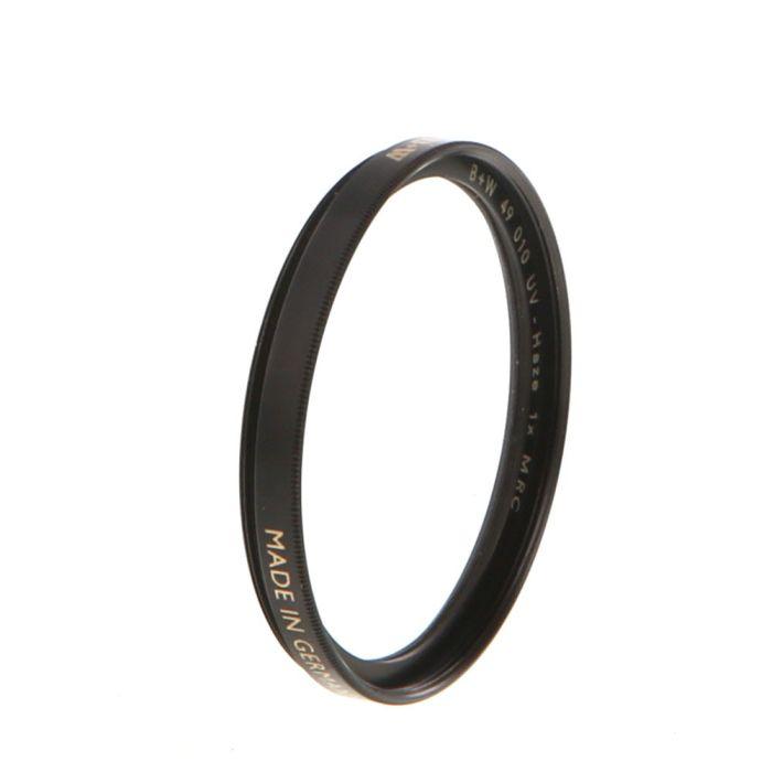 B+W 49mm UV Haze 010 MRC F-Pro Filter (010M)