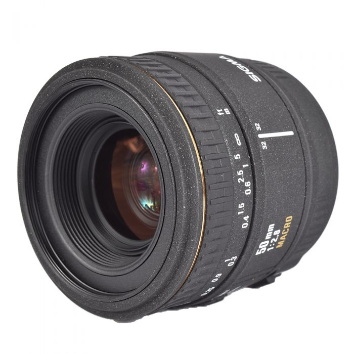 Sigma 50mm f/2.8 EX Macro Lens, Dedicated Only for Sigma SA Mount (please note: not Sony Alpha Mount){55}