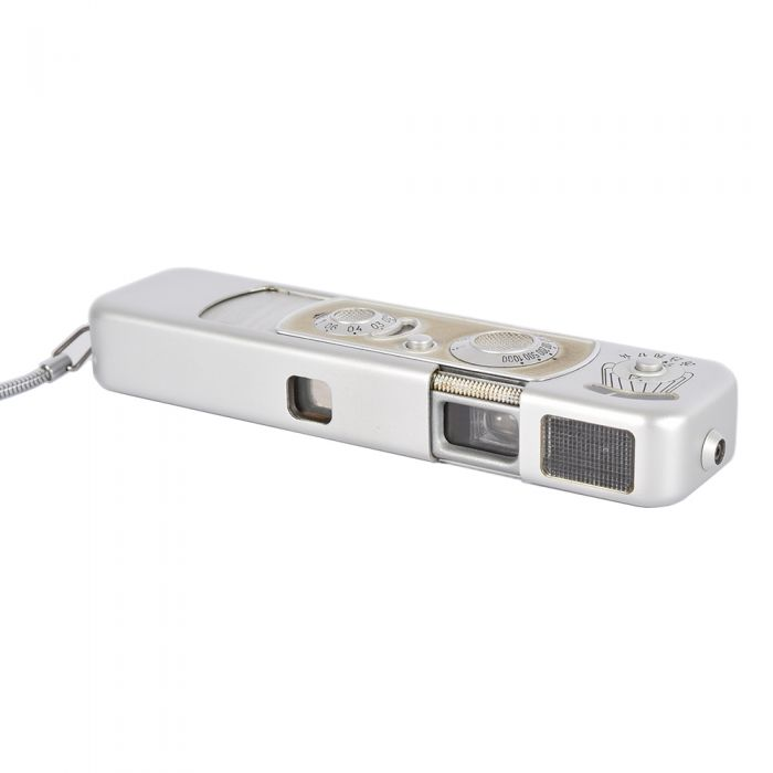 Minox B Subminiature Camera, Chrome (Din) with Square Lattice Meter Screen