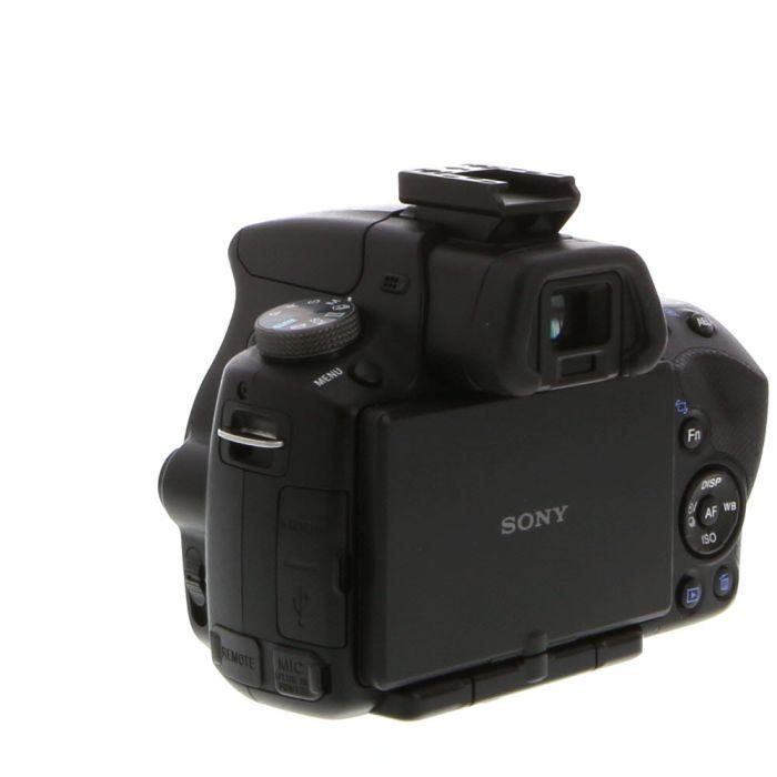 Sony Alpha SLT-A33 Digital Camera Body, Black {14.2MP}