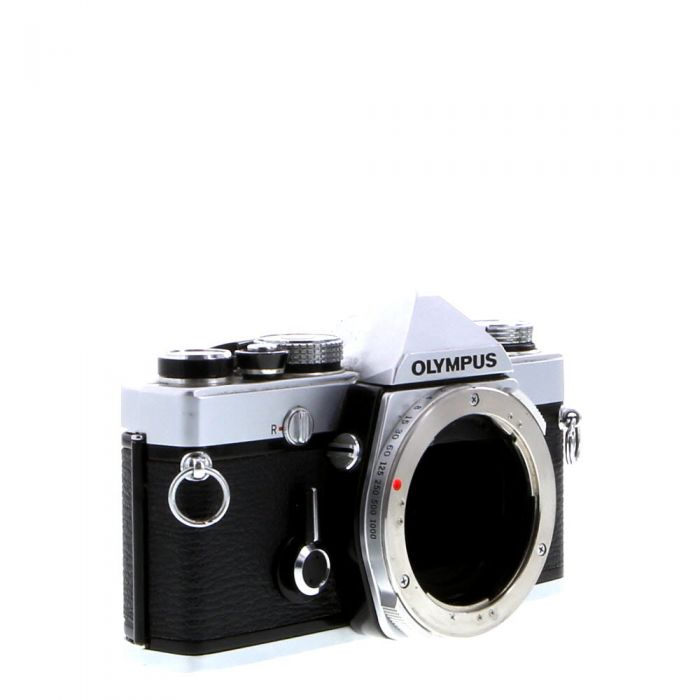 Olympus OM-1N 35mm Camera Body, Chrome (Without Shoe 4)
