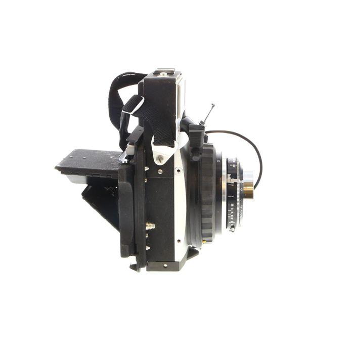 Graflex XL Rangefinder Camera, Chrome