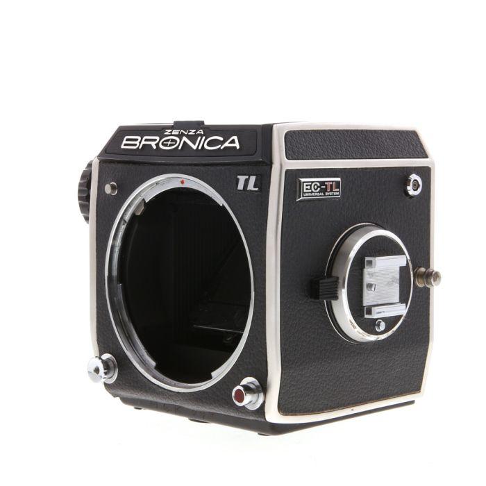 Bronica EC-TL Chrome Medium Format Camera Body
