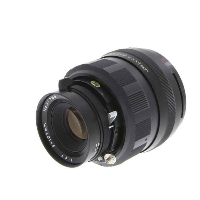 Mamiya Press 127mm f/4.7 Sekor Lens, Black {55}