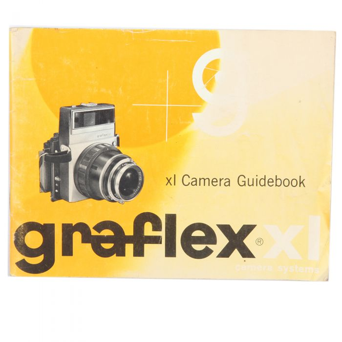 Graflex XL Camera Guidebook Instructions