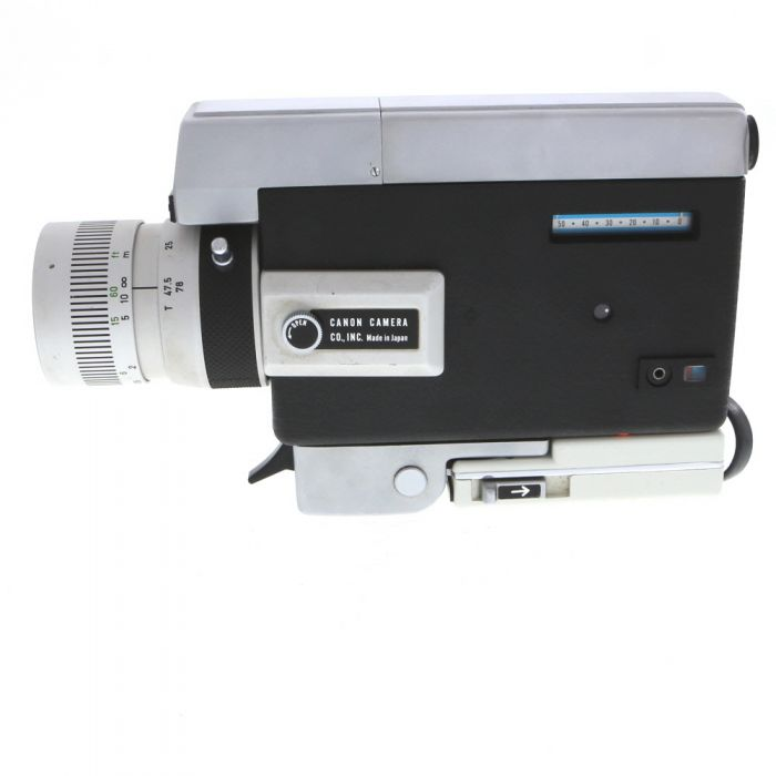 Canon Zoom 518 With 9.5-47.5mm F/1.8 (Super 8)