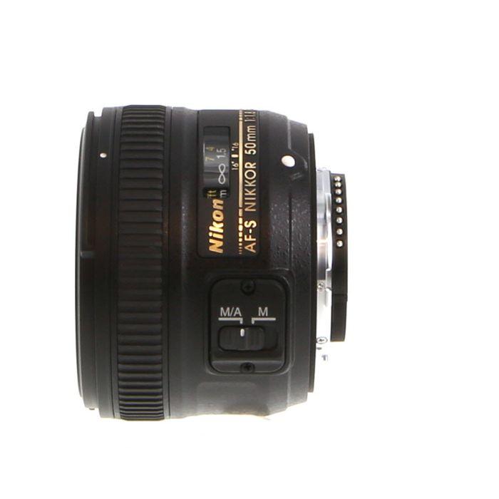 Nikon AF-S Nikkor 50mm f/1.8 G Autofocus Lens {58}
