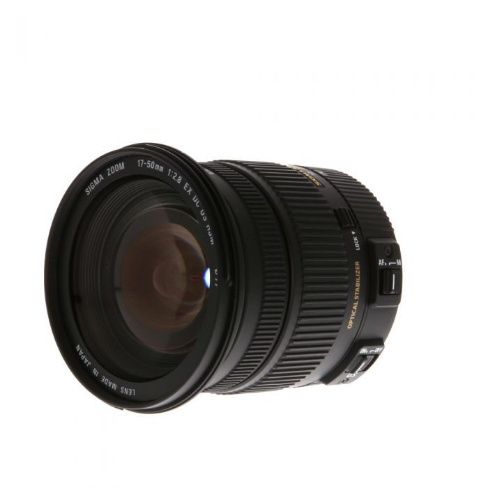 Sigma 17-50mm f/2.8 EX DC OS HSM Lens Dedicated Only for Sigma SA {77}