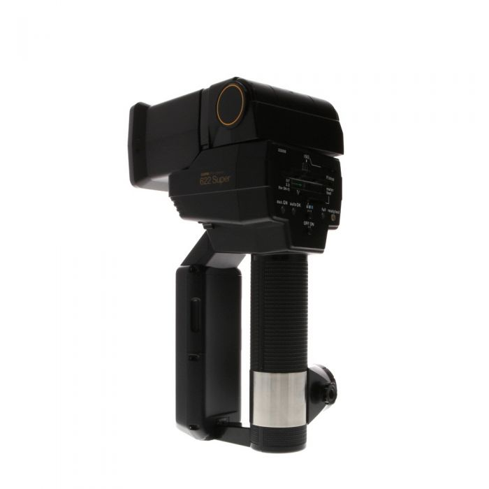 Sunpak 622 Super Handle Mount Flash, with Zoom Head ZH-1 [GN160-270] {Bounce, Swivel}