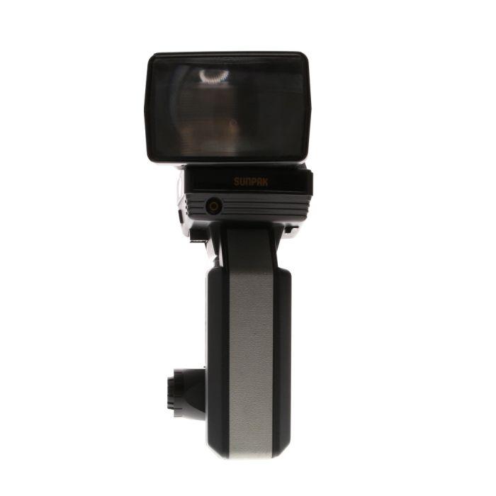 Sunpak 622 Super Handle Mount Flash, with Zoom Head ZH-1 [GN160-270] {Bounce, Swivel}