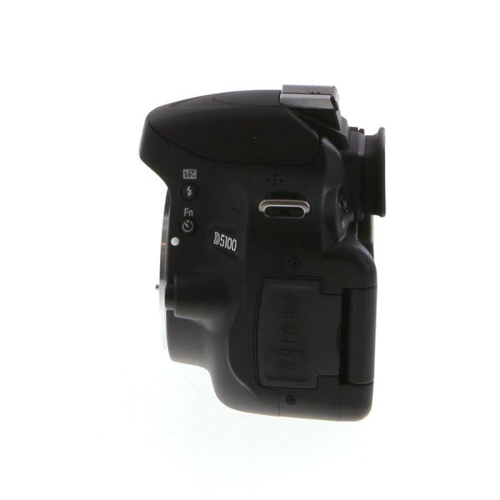 Nikon D5100 Digital SLR Camera Body, Black {16.2MP}