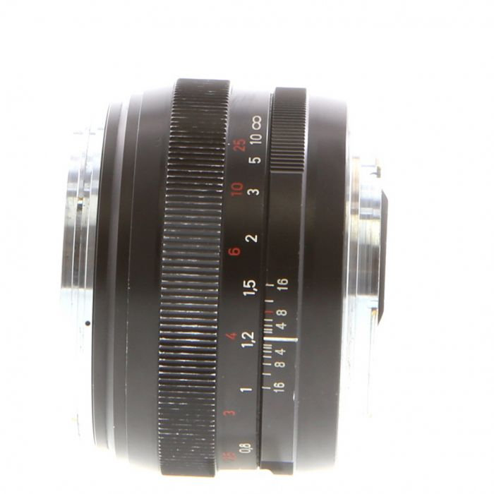 Zeiss 50mm F/1.4 Planar ZE T* (Manual Focus) Lens For Canon EF Mount {58}