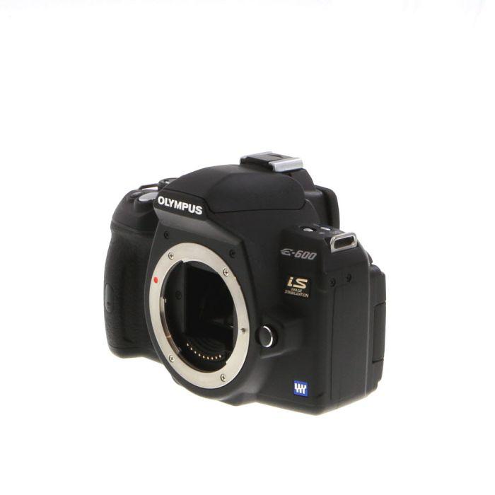 Olympus E-600 Four Thirds DSLR Camera Body {12.3MP}