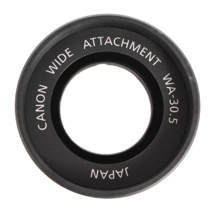 Canon Wide Attachment WA-30.5 For ZR-70