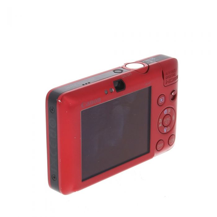 Canon Powershot SD780 IS Red Digital Camera {12.1 M/P}