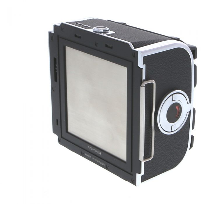 Hasselblad A24 220 Film Back, Chrome, Labeled \'6X6\', (30224), for V System