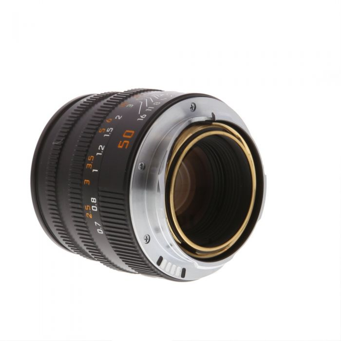 Leica 50mm f/2 Summicron-M M-Mount Lens with Built-In Hood, Black, 6-Bit {39} 11826