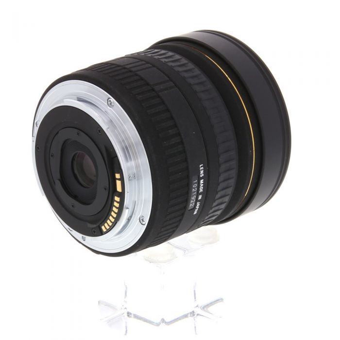 Sigma 8mm f/3.5 EX DG Fisheye Lens For Canon EF {Gel}