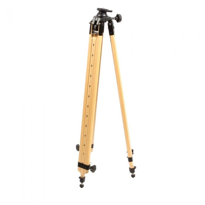 Berlebach Report 3032 Wood Tripod Legs with Leveling Ball