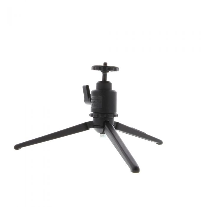 Bogen Table Top Tripod with Manfrotto 342 Ball Head, Black