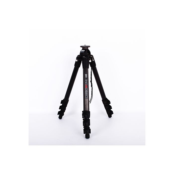 Manfrotto 440 Carbon One Tripod Legs, 4-Section, 20.5-64.5