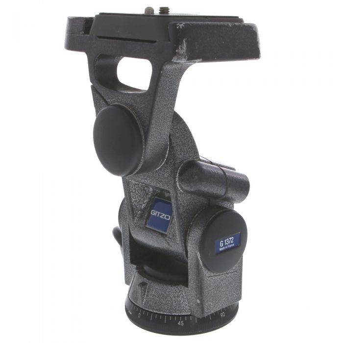 Gitzo Rational G1372 3-Way Pan Tilt Tripod Head