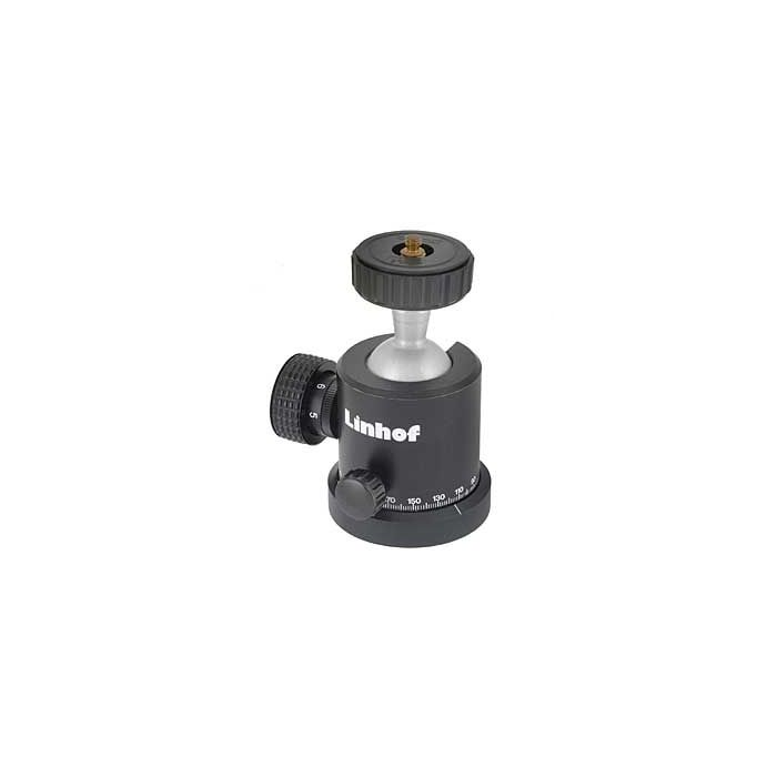 Linhof Profi II Ball Head (3676) (63mm Base/42mm Platform) Tripod Head