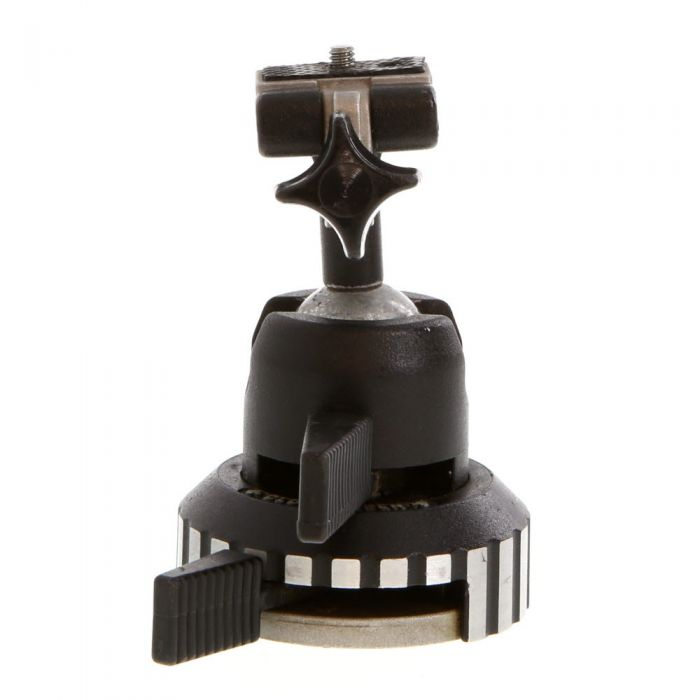 Manfrotto 108 Ball Head With 3027 Quick Release Plate (Same AS Bogen 3026) Tripod Head