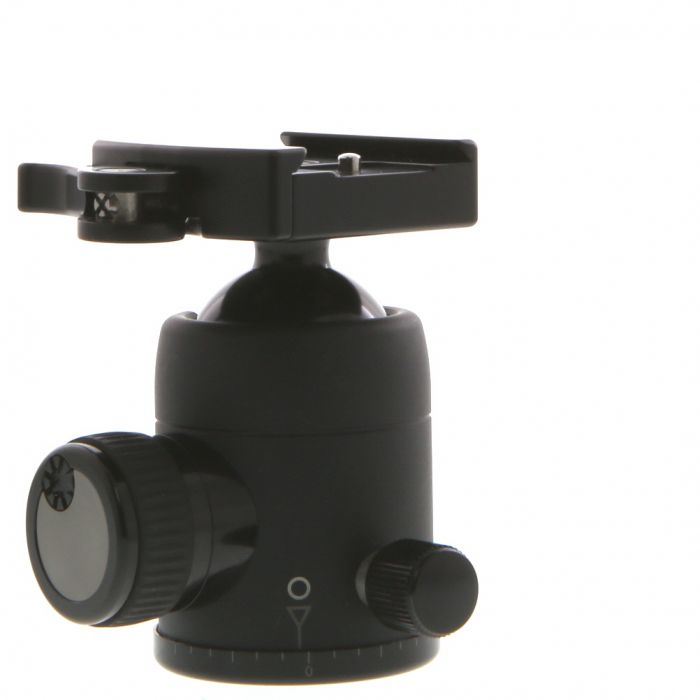 Markins Q-Ball Q3 Traveler Ballead Tripod Head with Lever Release Quickshoe, Black (Requires Quick Release Plate)