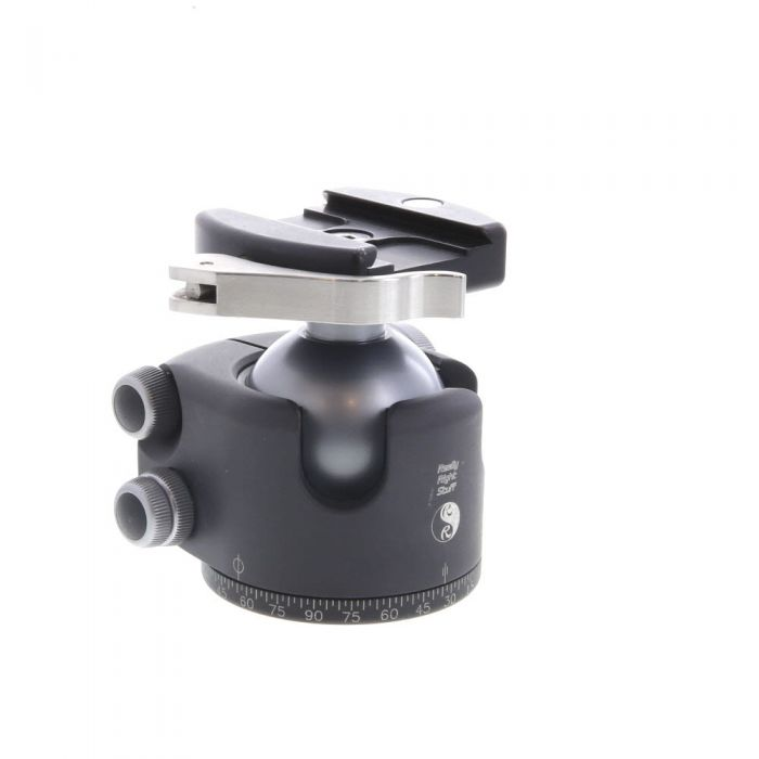 Really Right Stuff BH-55 Ball Tripod Head with Lever Release Clamp (B2 AS II) (Requires Quick Release Plate)