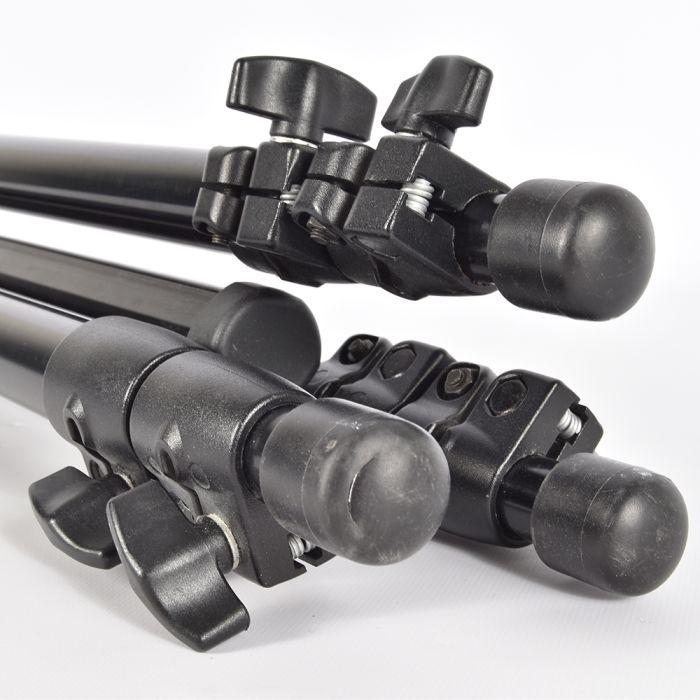Bogen/Manfrotto 3011BN Aluminum Tripod Legs, 3-Section, Black 24-71
