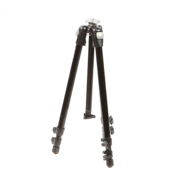 Bogen/Manfrotto 3001BN Black Aluminum Tripod Legs 3-Section 21-55\