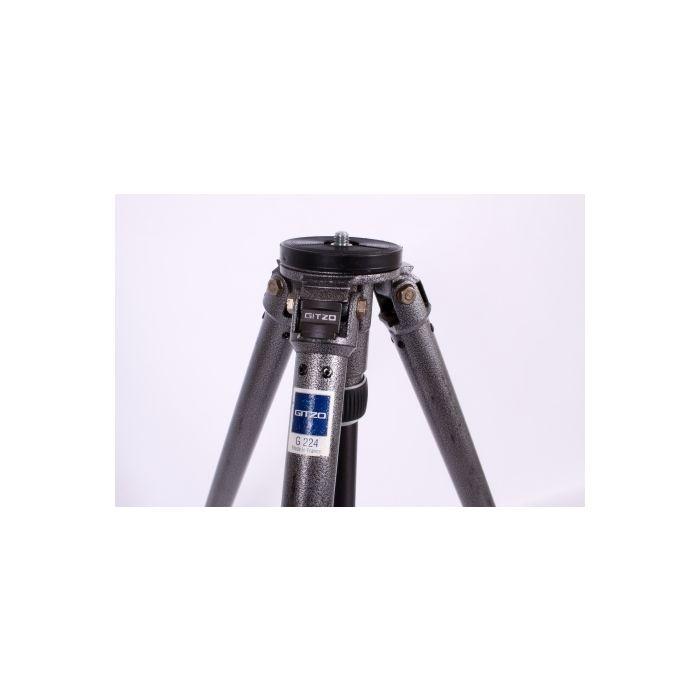 Gitzo G224 Reporter Industrial Performance Tripod Legs, 3-Section, 25-73.75\