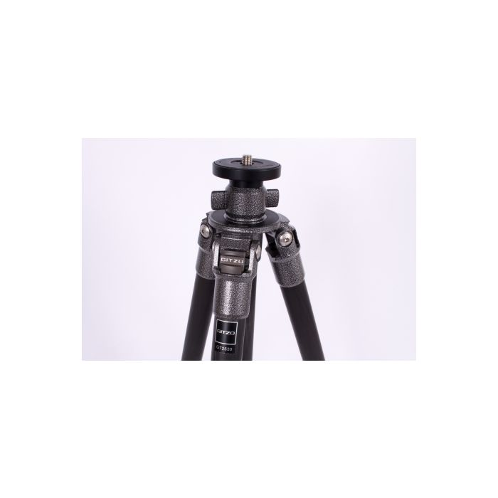 Gitzo GT2530 Mountaineer 6X Carbon Fiber Tripod Legs, 3-Section, 13-63.4\