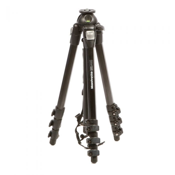 Manfrotto 055 Magfiber Tripod Legs, 4 Section, 21-65\
