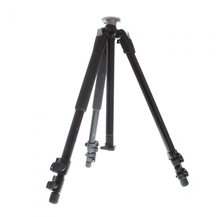 Manfrotto 190XB Aluminum Tripod Legs, 3-Section, Black, 20.9-57.1
