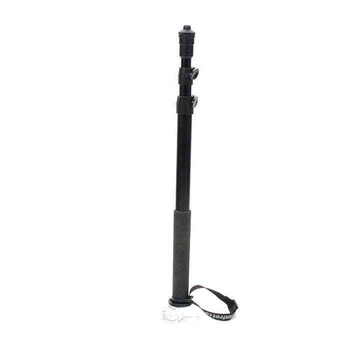 Manfrotto 682B Self-Standing Pro Monopod, 3-Section, Black, 28-68