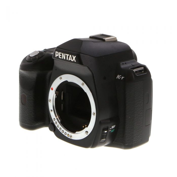 Pentax K-R Digital SLR Camera Body, Black {12.4MP}