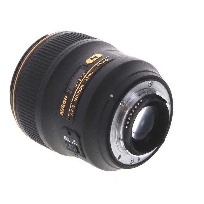 Nikon AF-S Nikkor 35mm f/1.4 G Autofocus Lens {67}