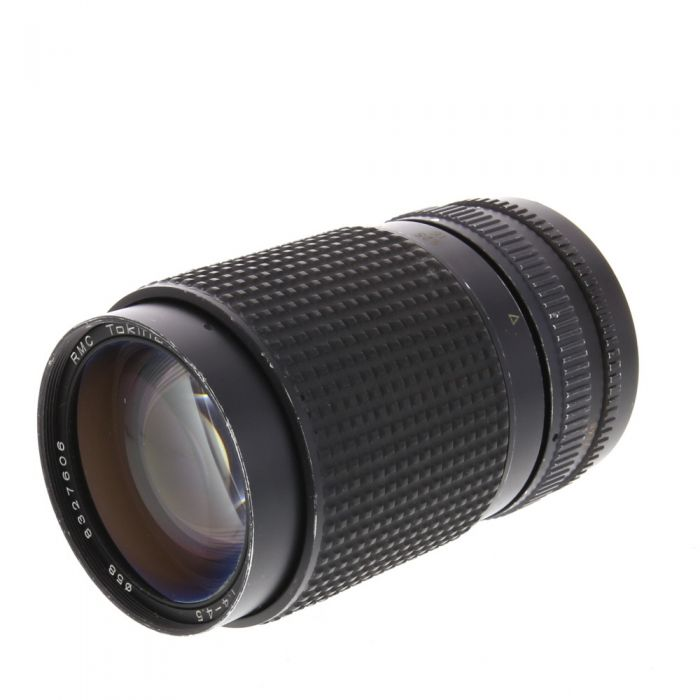 Tokina 35-135mm F/4-4.5 RMC AI/Zoom Loose Manual Focus Lens For Nikon {58}