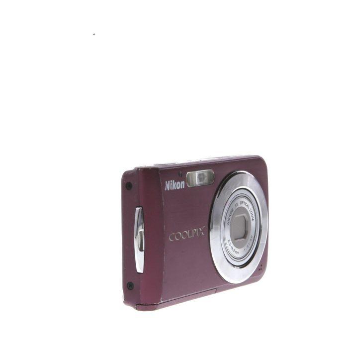 Nikon Coolpix S210 Digital Camera Plum {8MP}