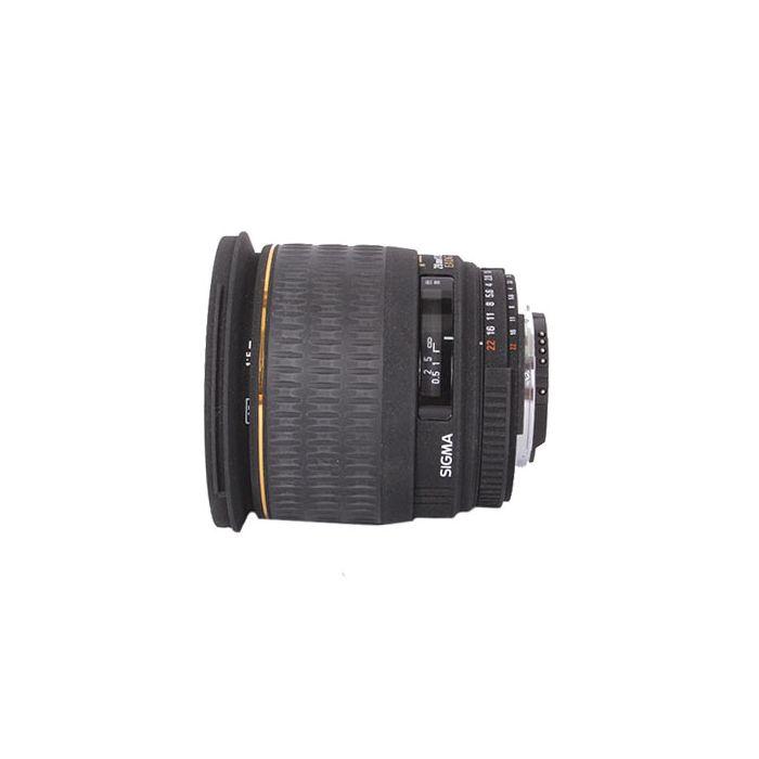 Sigma 28mm F/1.8 Aspherical Macro DG EX Autofocus Lens For Nikon {77}
