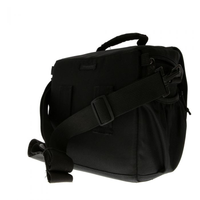 Lowepro Adventura 170 Shoulder Bag, Black,1 Front 2 Side Pockets,8.7X4.9X7.7