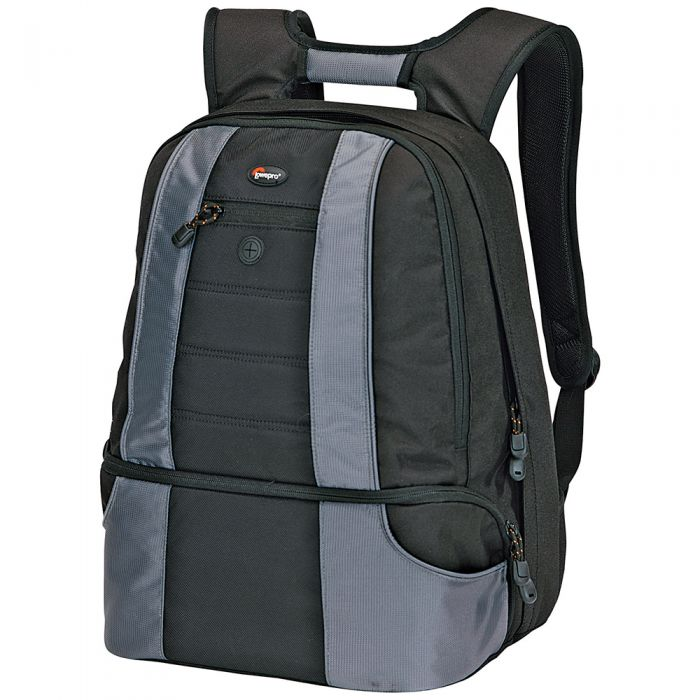Lowepro Compu Daypack, Black/Gray,14X9X18